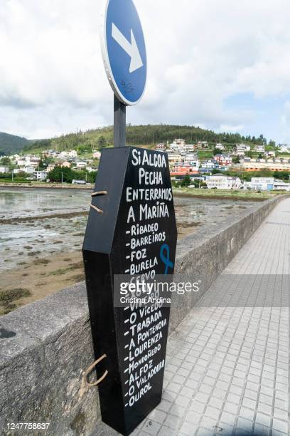 Alcoa workers demonstrate in the streets of Viveiro on June 7, 2020 in Viveiro,Lugo, Spain. Alcoa workers are once again taking to the streets to...