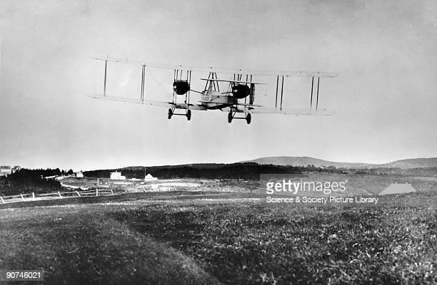 Alcock Brown's transatlantic aircraft crossed the Atlantic between St John's Newfoundland and Clifden Ireland between 14 and 15 June 1919