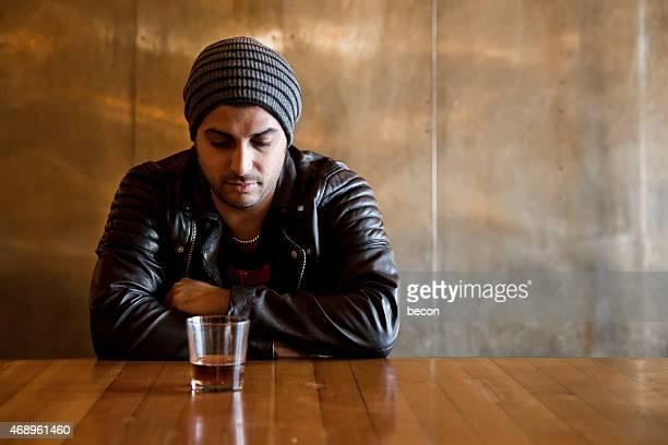 Alkoholische Getränke an der Bar