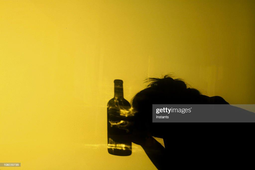 Alcoholism : Stock Photo