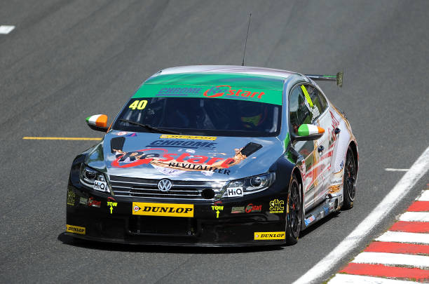 AlcoSense Breathalysers Racings Hunter Abbott In Action During Race 1 At Oulton Park