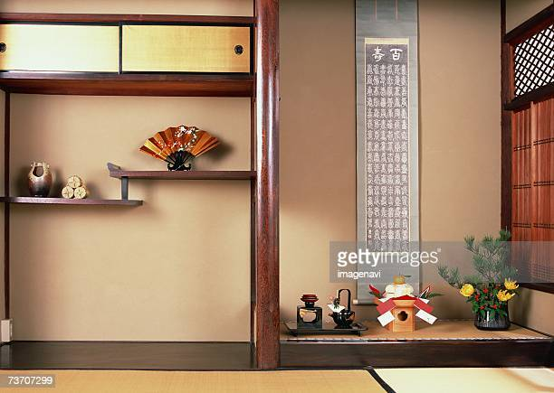 Alcove in traditional Japanese room