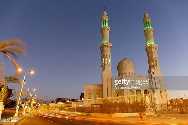Aldahaar Mosque in Hurghada, Egypt