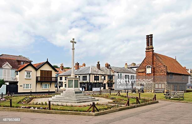 Aldeburgh a coastal town in Suffolk East Anglia England Located on the Alde river the town is notable for its Blue Flag shingle beach and fisherman...
