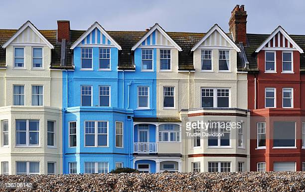 aldeburgh houses - aldeburgh stock photos and pictures