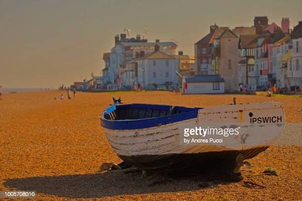 aldeburgh, suffolk, united kingdom - aldeburgh stock photos and pictures