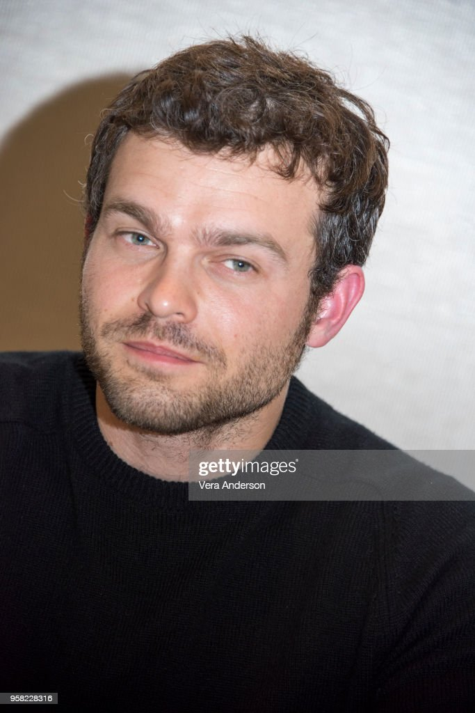 Alden Ehrenreich at the 'Solo: A Star Wars Story' Press Conference at The Pasadena Convention Center on May 12, 2018 in Pasadena, California.