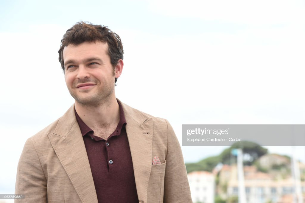 Alden Ehrenreich attends 'Solo: A Star Wars Story' Photocall during the 71st annual Cannes Film Festival at Palais des Festivals on May 15, 2018 in Cannes, France.
