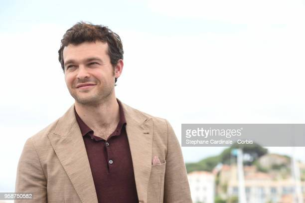 Alden Ehrenreich attends 'Solo A Star Wars Story' Photocall during the 71st annual Cannes Film Festival at Palais des Festivals on May 15 2018 in...