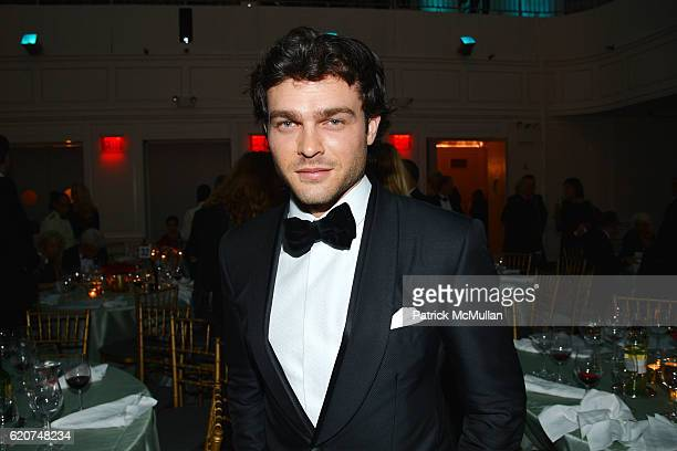 Alden Ehrenreich attends the Museum Of The Moving Image 30th Annual Salute Honoring Warren Beatty at 583 Park Avenue on November 2 2016 in New York...