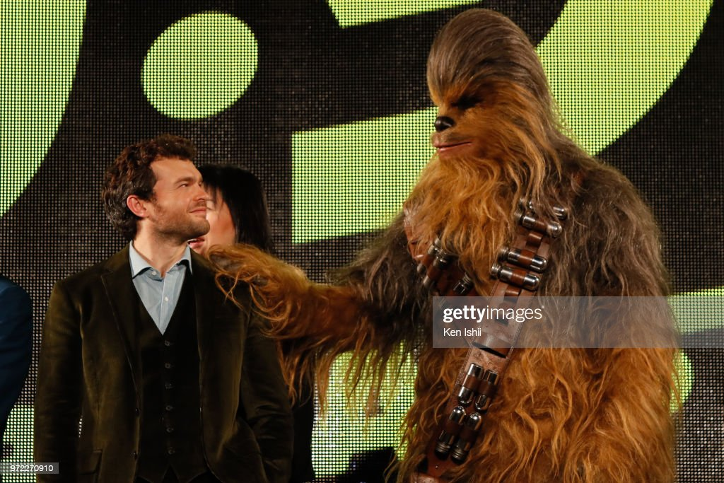 Alden Ehrenreich attends the premiere for 'Solo: A Star Wars Story' at Roppongi Hills on June 12, 2018 in Tokyo, Japan.