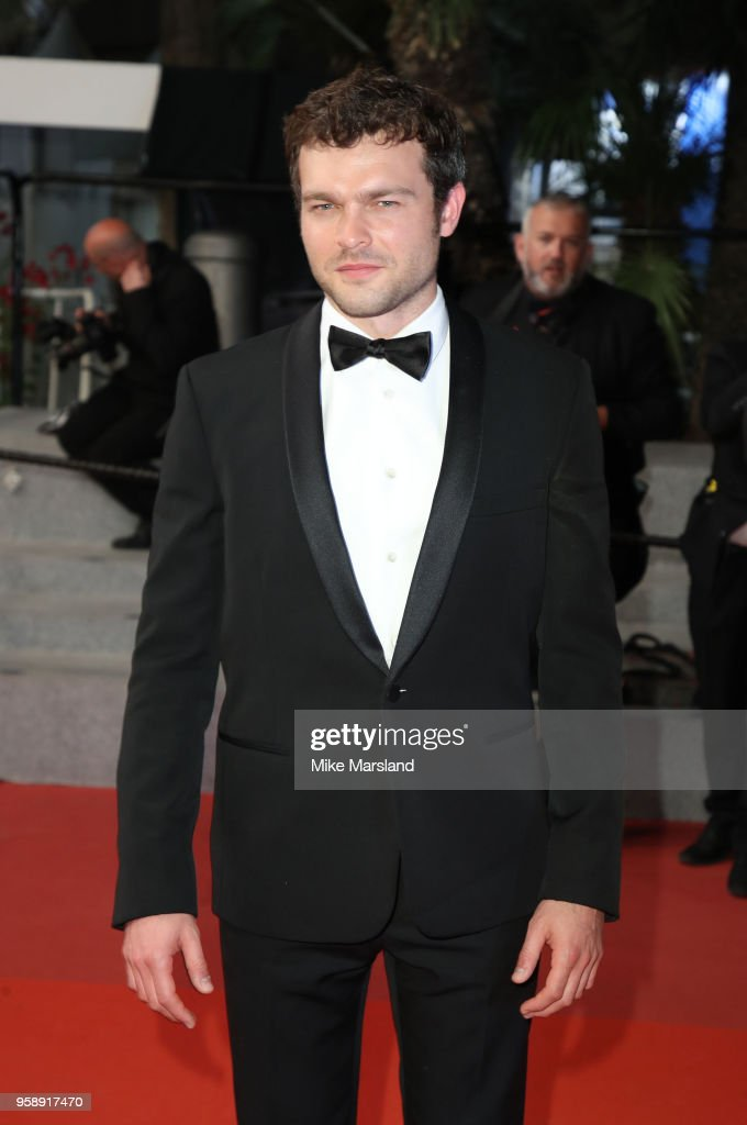 Alden Ehrenreich attends the screening of 'Solo: A Star Wars Story' during the 71st annual Cannes Film Festival at Palais des Festivals on May 15, 2018 in Cannes, France.