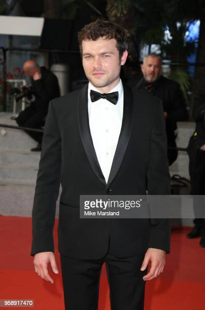 Alden Ehrenreich attends the screening of 'Solo A Star Wars Story' during the 71st annual Cannes Film Festival at Palais des Festivals on May 15 2018...