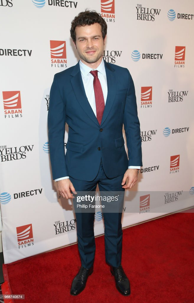 Alden Ehrenreich attends 'The Yellow Birds' premiere presented by Saban Films and DIRECTV at The London West Hollywood on June 6, 2018 in West Hollywood, California.