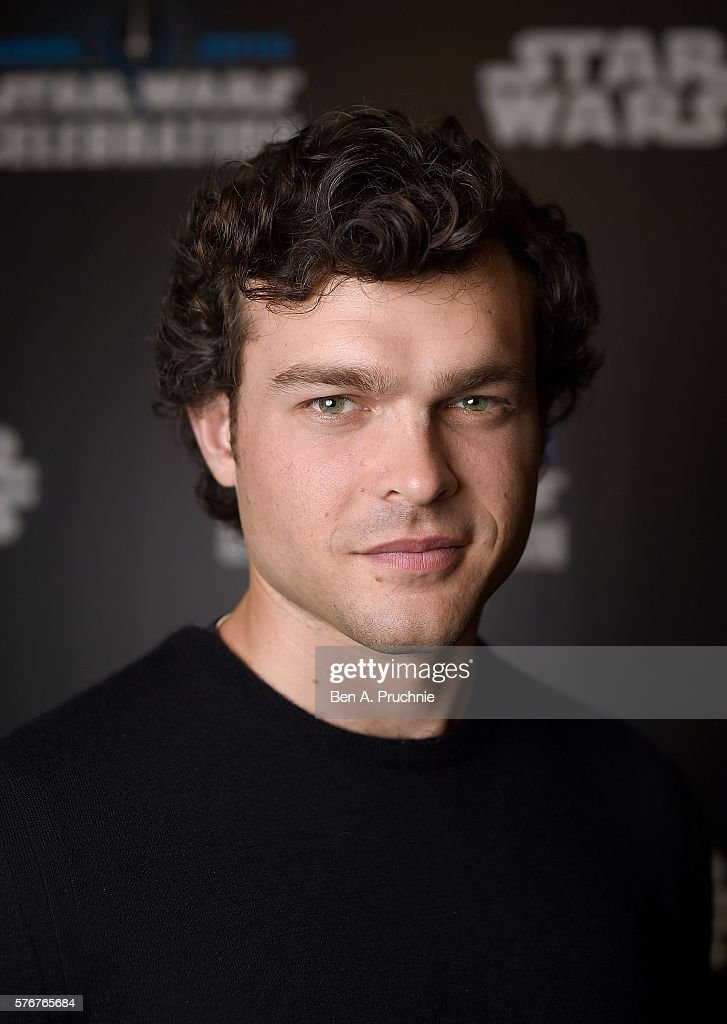 Alden Ehrenreich, who will play Han Solo, attends the Star Wars Celebration 2016 at ExCel on July 17, 2016 in London, England.