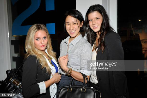 Alden Haviland Eva Chen and Alexis Shea attend AMY ASTLEY and TEEN VOGUE's Fashion at Work featuring BOBBI BROWN and JENNA LYONS at Hudson and Broad...