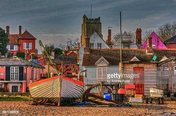 aldenburgh, suffolk, united kingdom - aldeburgh stock photos and pictures
