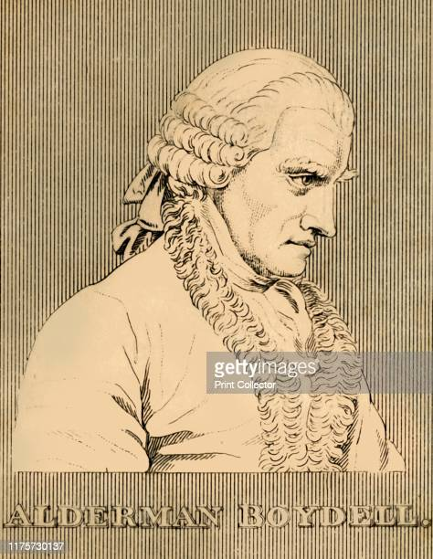 Alderman Boydell' 1830 John Boydell 18thcentury British publisher noted for his reproductions of engravings From Biographical Illustrations by Alfred...