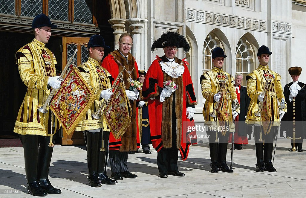 Alderman Robert Finch, the 676th Lord Mayor Elect of the City of London : News Photo