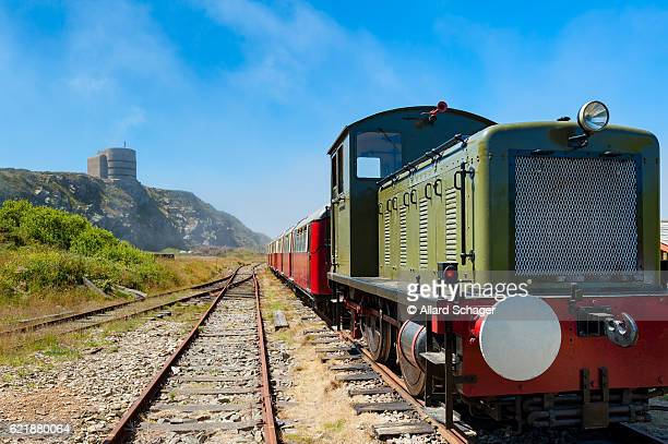 alderney railway on alderney - 1950 1959 stock pictures, royalty-free photos & images