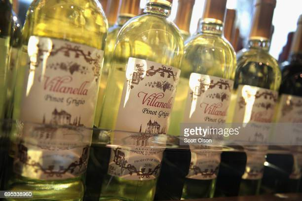 Aldi branded wine is offered for sale at an Aldi grocery store on June 12 2017 in Chicago Illinois Aldi has announced plans to open 900 new stores in...