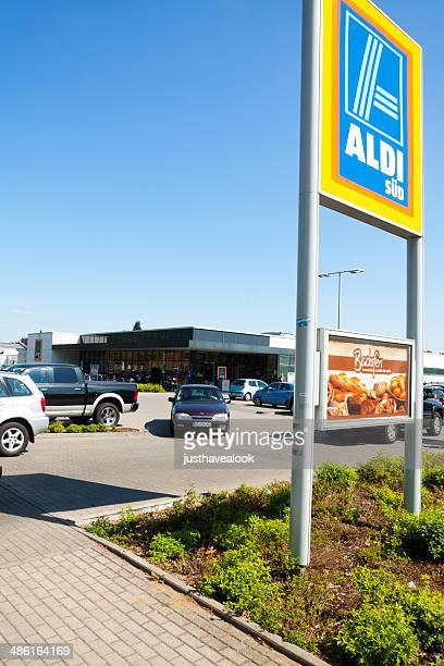 Aldi Süd-Supermarkt