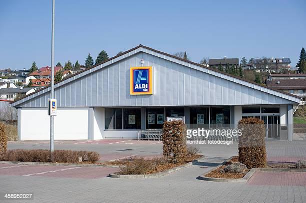 Aldi Süd-Markt, Deutschland.