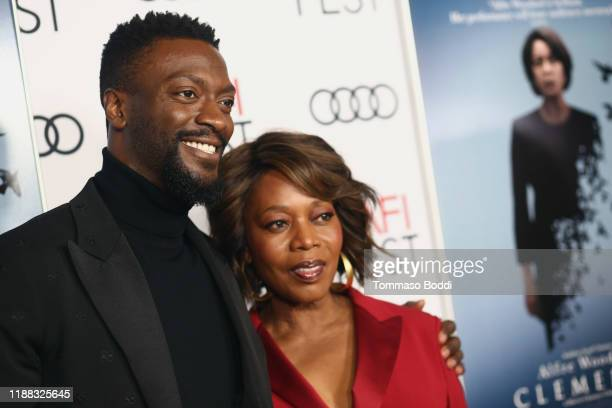 """Aldis Hodge and Alfre Woodard attend the AFI FEST 2019 Presented By Audi – """"Clemency"""" Premiere at TCL Chinese 6 Theatres on November 17, 2019 in..."""