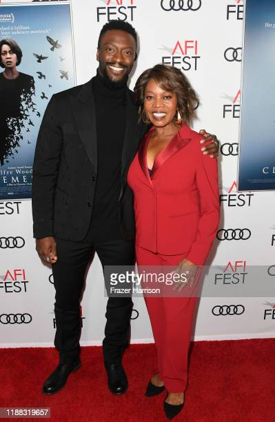 """Aldis Hodge and Alfre Woodard attend the """"Clemency"""" Premiere at AFI FEST 2019 presented by Audi at TCL Chinese 6 Theatres on November 17, 2019 in..."""