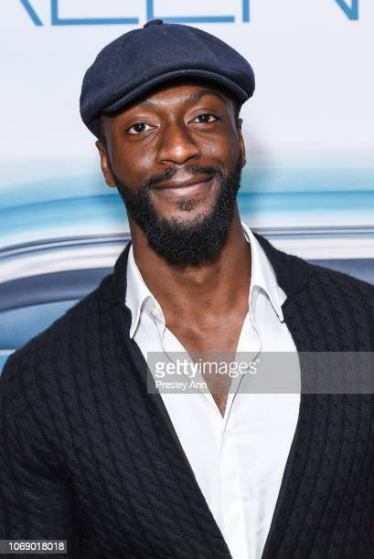 Aldis Hodge attends Special Screening Of Universal Pictures Green Book With Star Mahershala Ali at The GRAMMY Museum on November 17 2018 in Los...