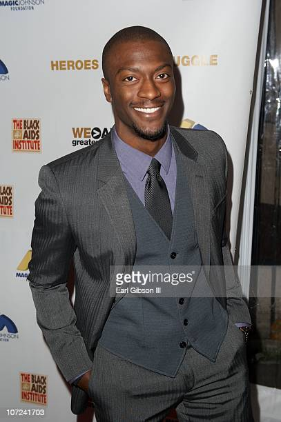 Aldis Hodge attends the 10th Annual Heroes In The Struggle Gala Concert on December 1 2010 in Hollywood California