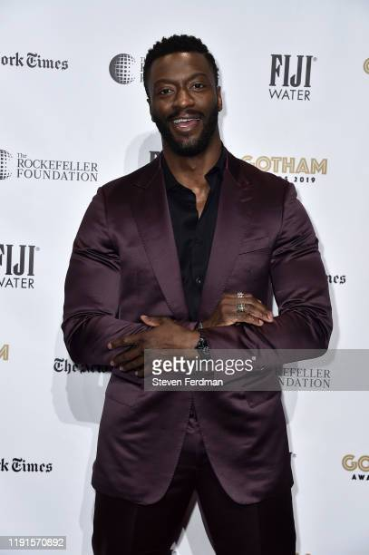 Aldis Hodge attends the 2019 IFP Gotham Awards at Cipriani Wall Street on December 02 2019 in New York City