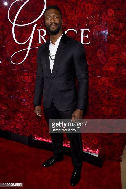 Aldis Hodge attends the 2019 Princess Grace Awards Gala on November 25 2019 in New York City
