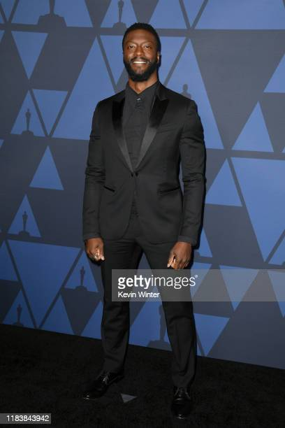 Aldis Hodge attends the Academy Of Motion Picture Arts And Sciences' 11th Annual Governors Awards at The Ray Dolby Ballroom at Hollywood Highland...