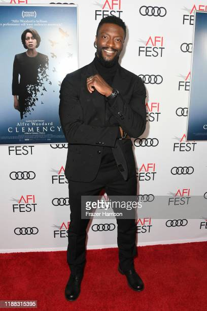 Aldis Hodge attends the Clemency Premiere at AFI FEST 2019 presented by Audi at TCL Chinese 6 Theatres on November 17 2019 in Hollywood California