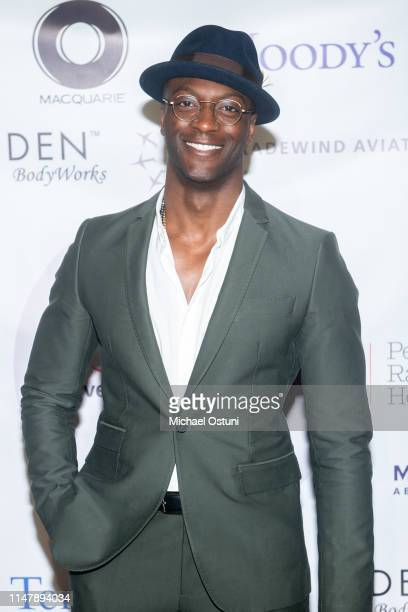 Aldis Hodge attends the Girls Inc of NYC 2019 Spring Gala Dinner And Awards at Cipriani 25 Broadway on May 08 2019 in New York City