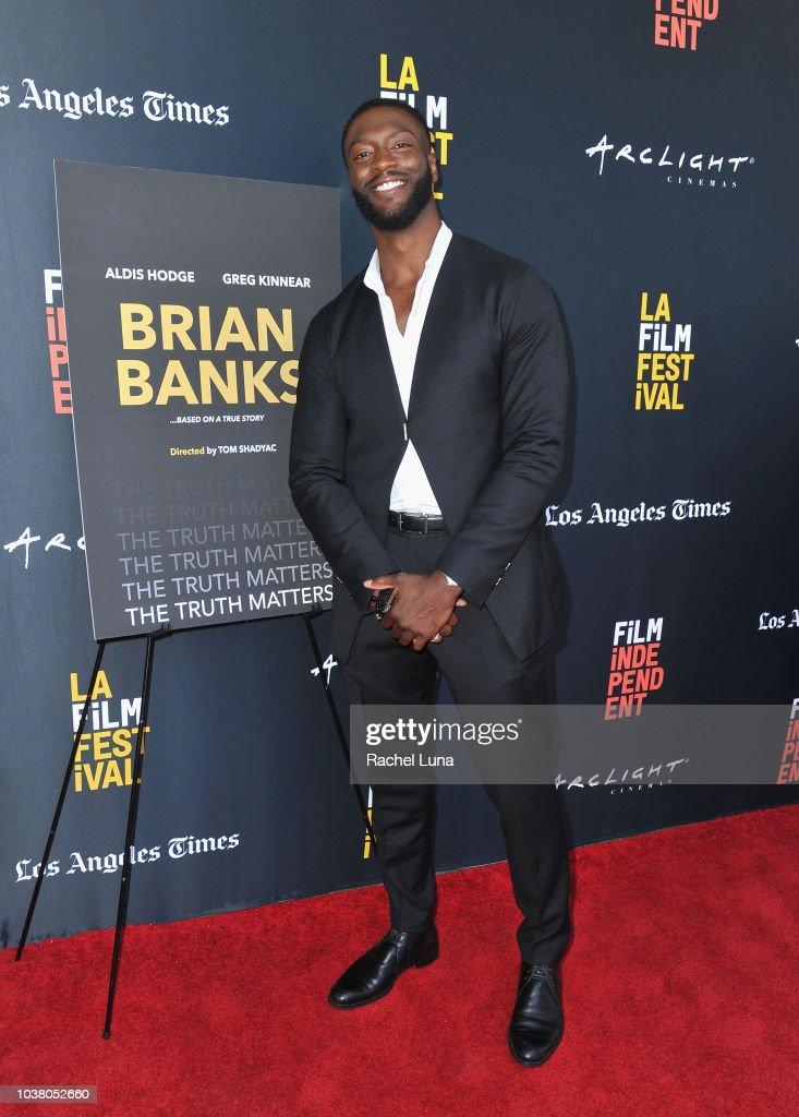 "2018 LA Film Festival - Screening Of ""Brian Banks"""