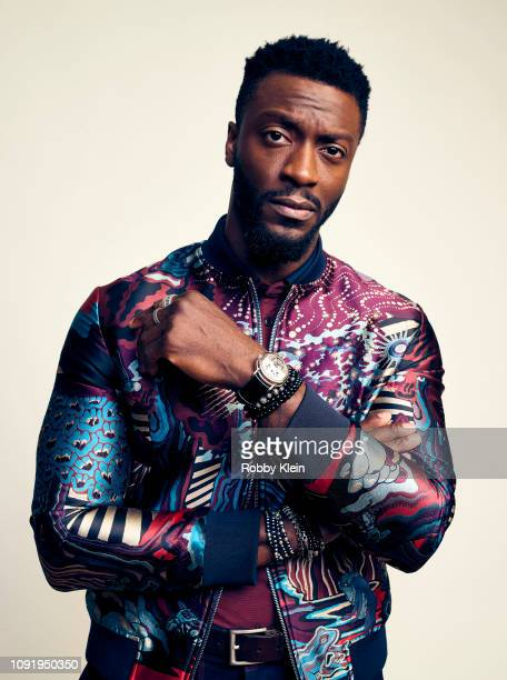 Aldis Hodge of Showtime's 'City On A Hill' poses for a portrait during the 2019 Winter TCA at The Langham Huntington Pasadena on January 31 2019 in...