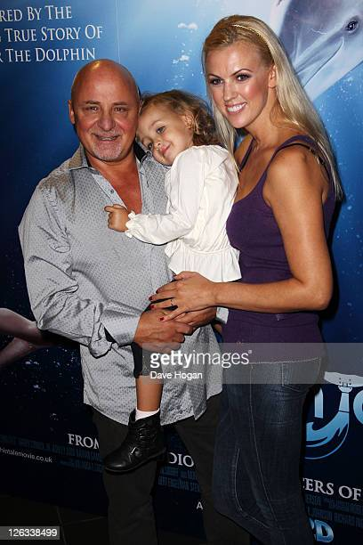 Aldo and Nikki Zilli attend a screening of Dolphin Tale in 3D at The Vue West End on September 25 2011 in London United Kingdom