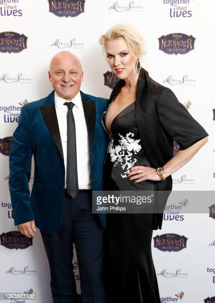 Aldo and Nikki Zilli attend the Together For Short Livessss 'Nutcracker Ball' at One Marylebone on November 20 2018 in London England Money raised...