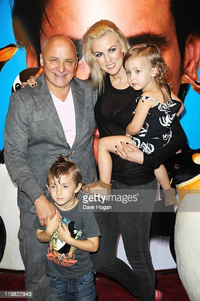 Aldo and Nikki Zilli attends a special screening of Mr Poppers Penguins at The Empire Leicester Square on July 23 2011 in London England