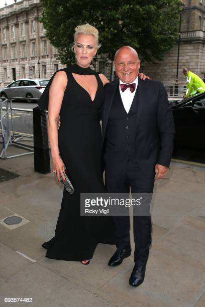 Aldo and Nikki Zilli attends Together for Short Lives Midsummer Ball at Banqueting House on June 7 2017 in London England