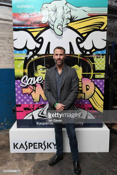Aldo del Bo of Kaspersky Lab attends Moniker Art Fair During the event Cybersecurity giant Kaspersky Lab unveiled the firstever Formula E art car...