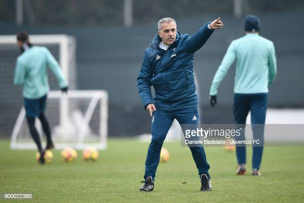 Aldo Dolcetti during a Juventus Training Session at Juventus Center Vinovo on December 31 2017 in Vinovo Italy