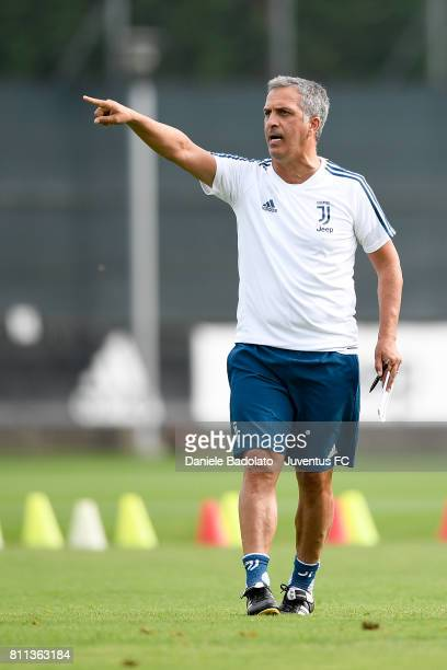 Aldo Dolcetti of Juventus during the afternoon training session on July 9 2017 in Vinovo Italy