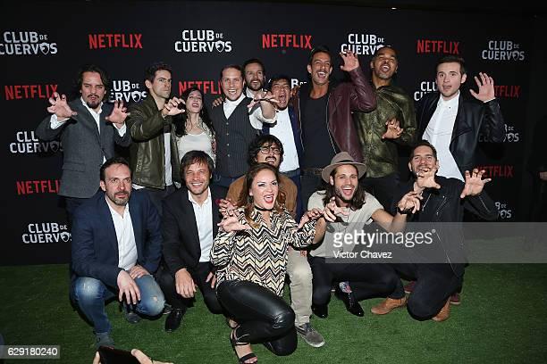 Aldo Escalante Luis Gerardo Mendez Mariana Trevino Creator showrunner and director Gaz Alazraki Said Sandoval 'Cuau' Joaquin Ferreira Gutemberg Brito...