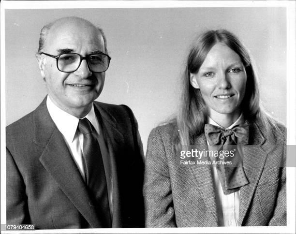 Aldo Giurgola and Pamelle Berg Parliament Hse Canberra architects June 14 1984