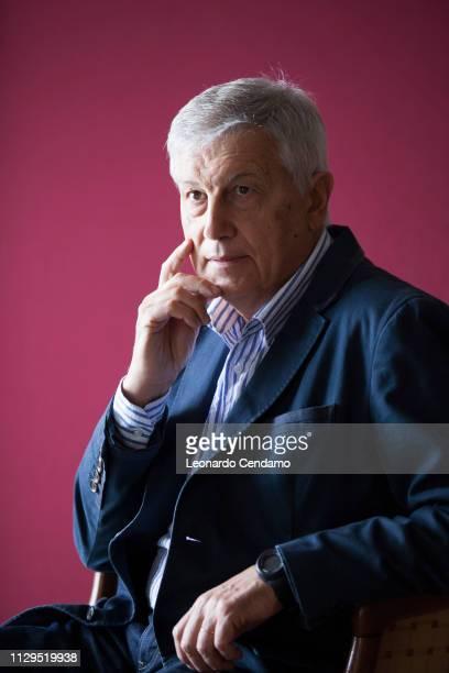Aldo Grasso Italian writer Locarno Svizzera 11th September 2015