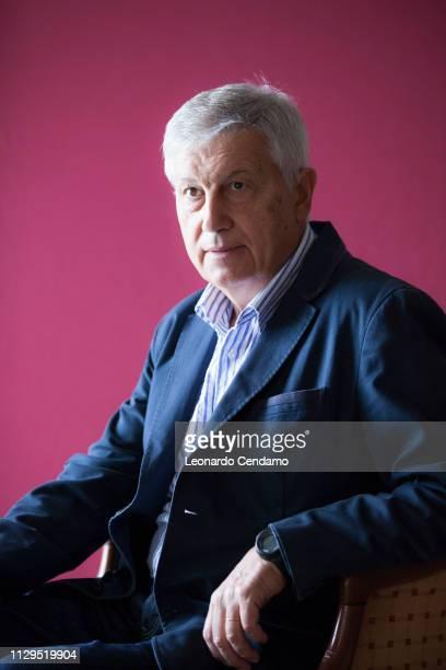 Aldo Grasso Italian writer Milan Italy 11th September 2015