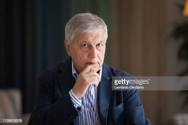 Aldo Grasso Italian writer Torino Italy 11th September 2015